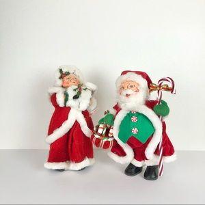 Annalee Mr. and Mrs. Santa Claus 2004